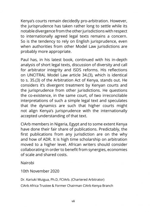 Treatise in International Arbitration book part-3